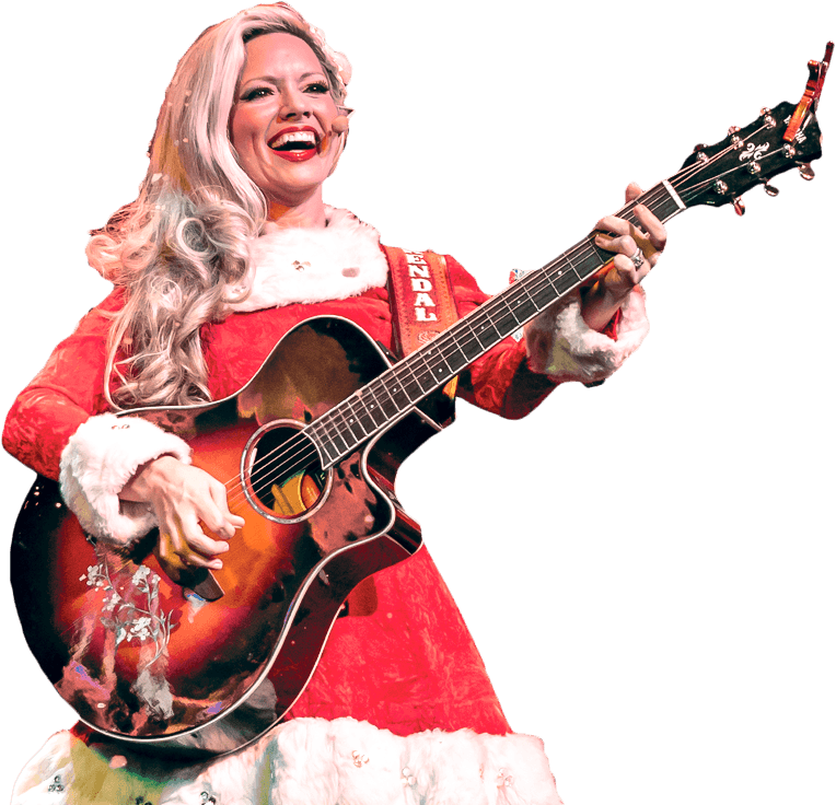 A Comedy Barn Christmas - Pigeon Forge, TN - Kendall and her Guitar