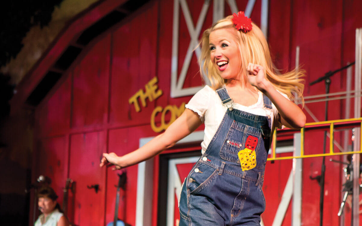 The Comedy Barn in Pigeon Forge TN - World-Class Clogging
